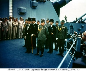 Japanese Surrender Delegation