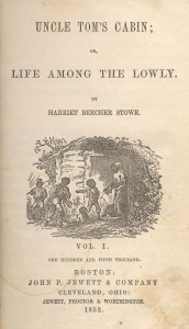 Cover of Uncle Tom's Cabin