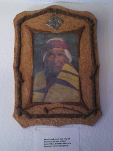 Picture of Navaho Man, Miramont Castle