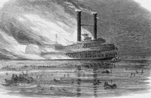 Sultana Burning, Harper's Weekly