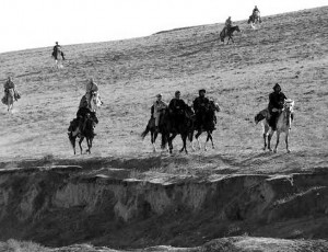 U.S. Special Forces on Horseback