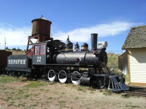 D.S.P.&P.R.R. Locomotive