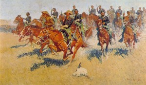 The Cavalry Charge, Frederic Remington